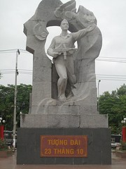 Statue of a Vietnamese Soldier, Nha Trang