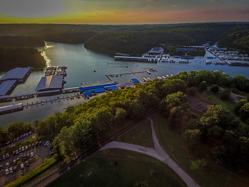 dji drone lakecumberland lakecumberlandstatepark phantom3 jamestown kentucky unitedstates us