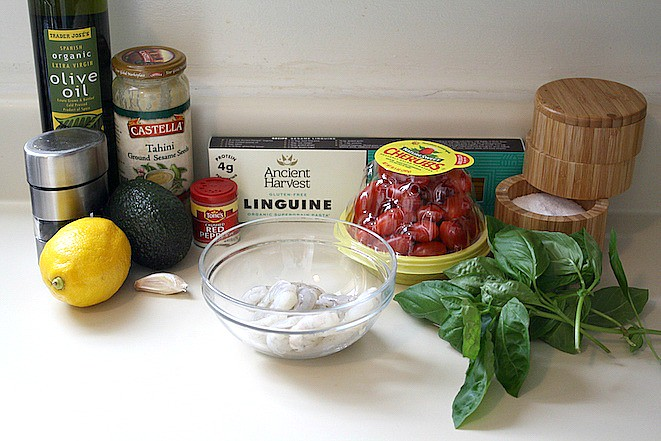 Healthy Avocado Linguine