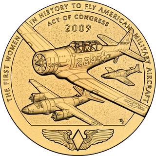 2009 Women Airforce Service Pilots Bronze Medal Reverse