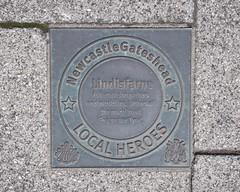 Photo of Lindisfarne bronze plaque