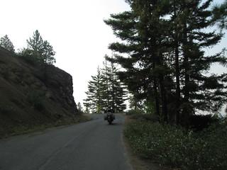 Road to Old Blewett Summit North of Ellensburg