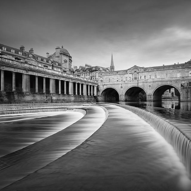 The Pulteney Bridge Bath, Nikon D810, PC-E Nikkor 24mm f/3.5D ED