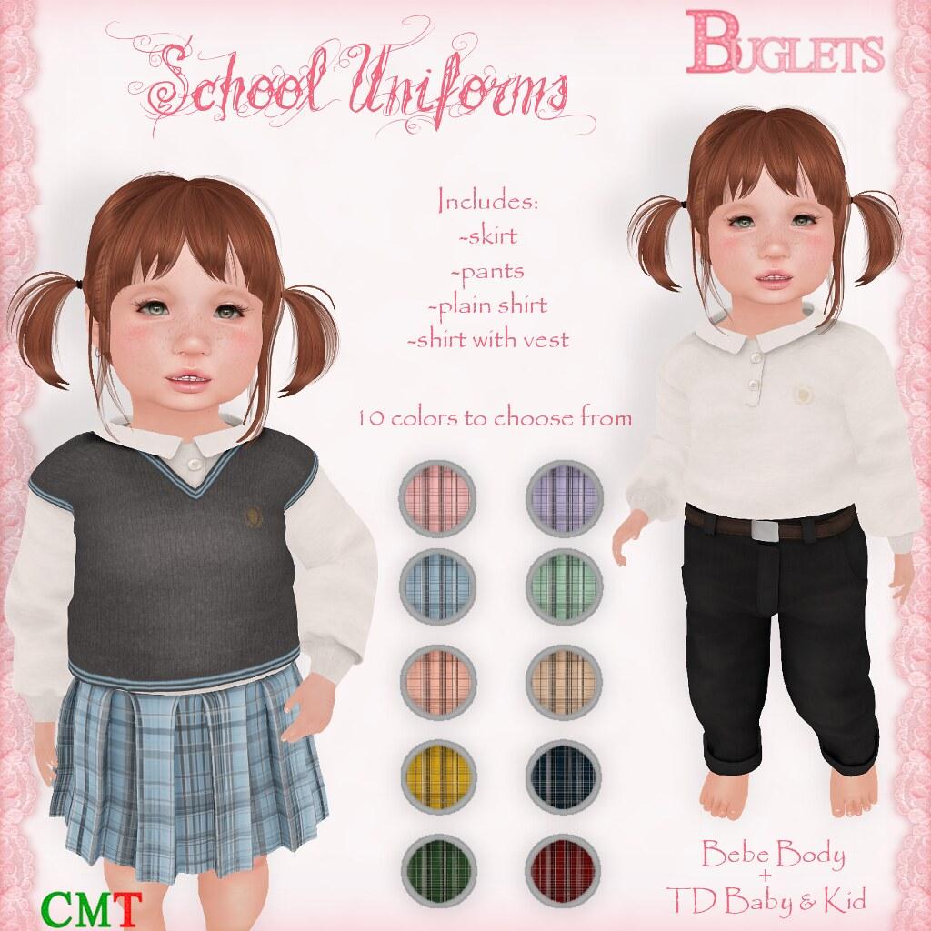 School Uniforms AD - SecondLifeHub.com