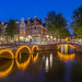 Blue Hour in Amsterdam by emanuelezallocco