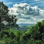 Glastonbury Tor from Ebbor Gorge, Somerset