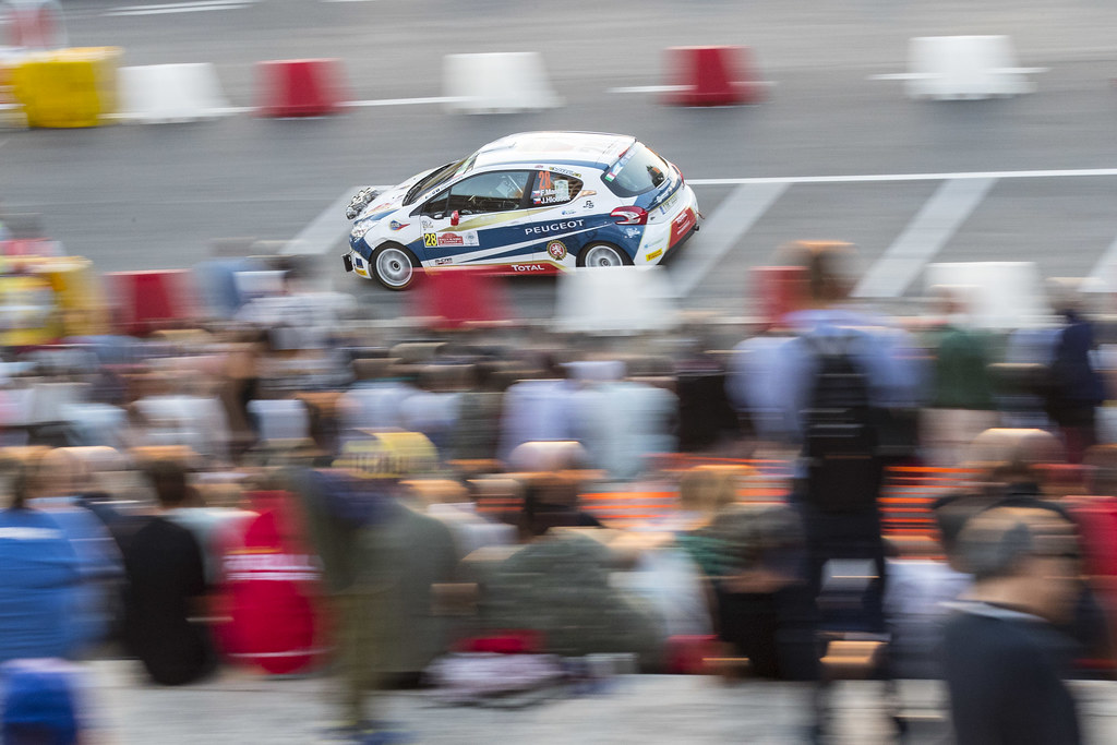 28 MARES Filip (CZE) HLOUSEK Jan (CZE) Peugeot 208 R2 action during the 2017 European Rally Championship ERC Rally di Roma Capitale,  from september 15 to 17 , at Fiuggi, Italia - Photo Gregory Lenormand / DPPI
