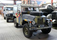 Land Rover at the Aalborg Forsvars- og Garnisonsmuseum 16th of september 2017. Photo: Per Ryolf