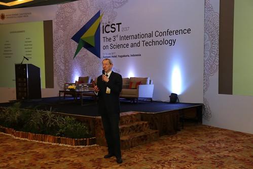 Prof. David St. C. Black delivers his keynote address, 11