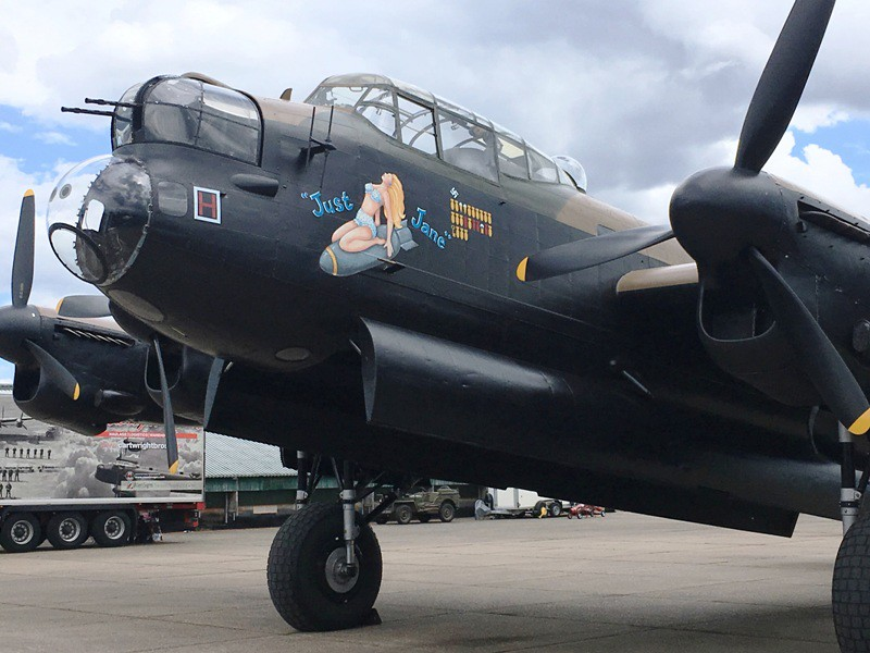 2017-08-05 East Kirkby 004 Lancaster NX611 Just Jane
