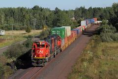 CN SD60s at 33