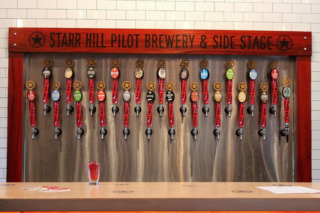 Starr Hill Brewery Roanoke Taps