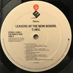 LEADERS OF THE NEW SCHOOL:T.I.M.E(LABEL SIDE-D)