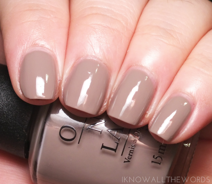 OPI Iceland Collection icelanded a bottle of OPI