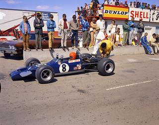 Formula A race at the Edmonton International Speedway