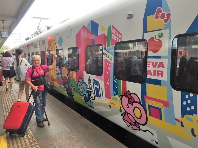 搭乘普悠瑪火車 (14)