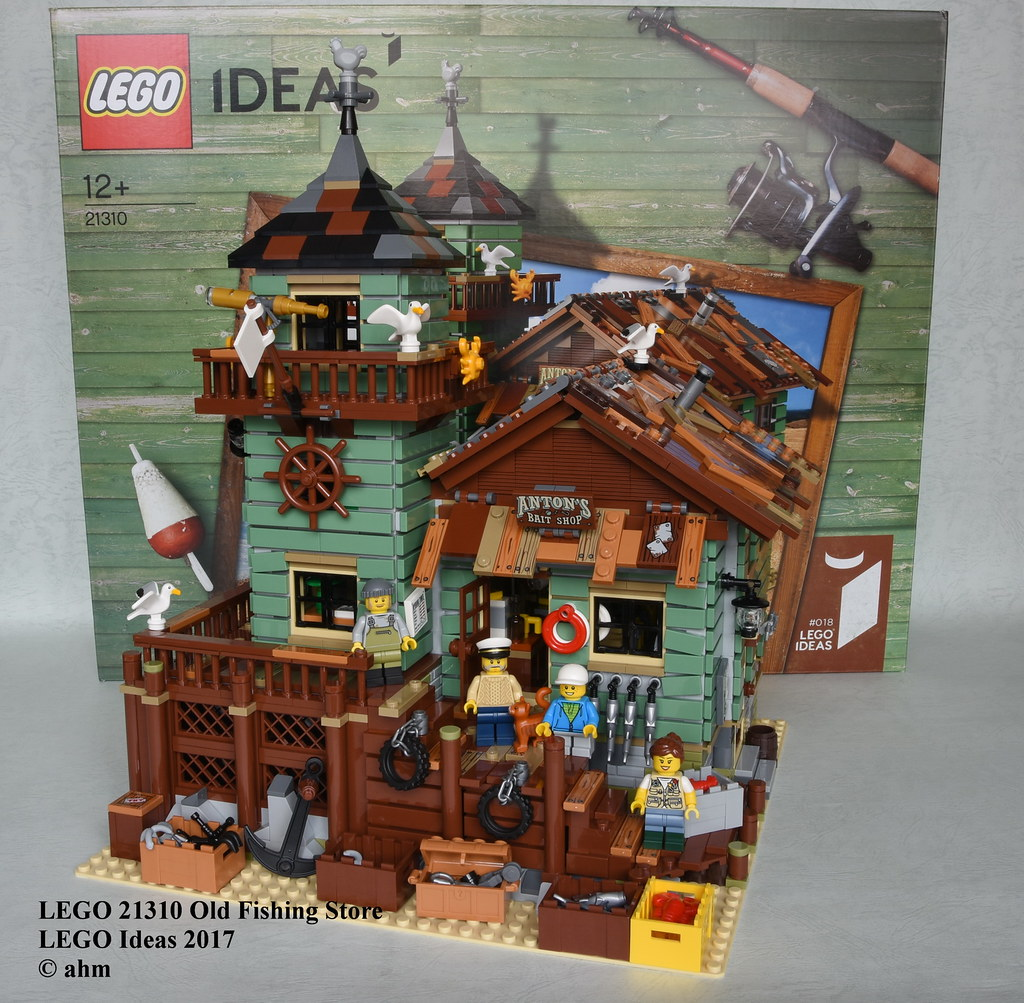 Flickr photos tagged cuusoo picssr for Lego old fishing store