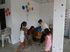 Centro Infantojuvenil Dr. Deyton Alcívar brinda atención a hijos de comerciantes del Mercado Central