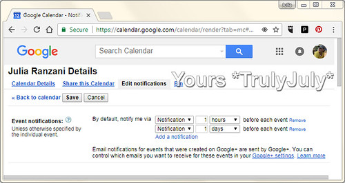 It's easy to change the Google Calendar default settings to your preferences.
