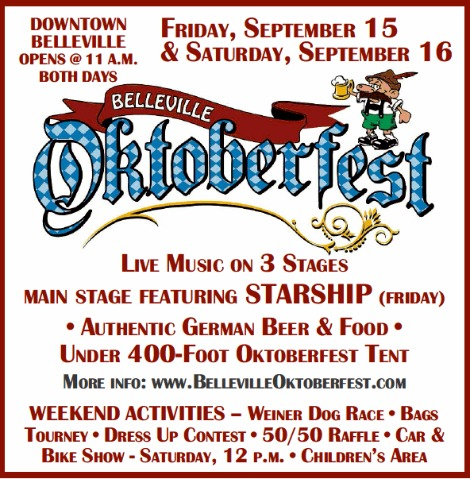 Oktoberfest 9-15, 9-16-17
