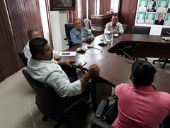Dirigentes de comunidad Carrasco de la parroquia Santa Rita fueron atendidos en audiencia por alcalde de Chone