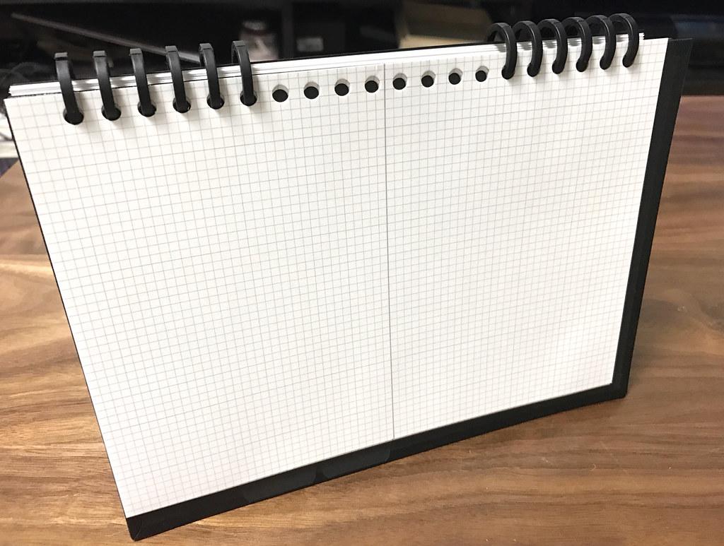 カレンダー手帳ノート部分