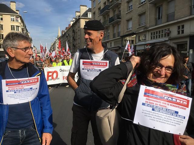 "Manifs contre la loi ""travail"" d'E. Macron"