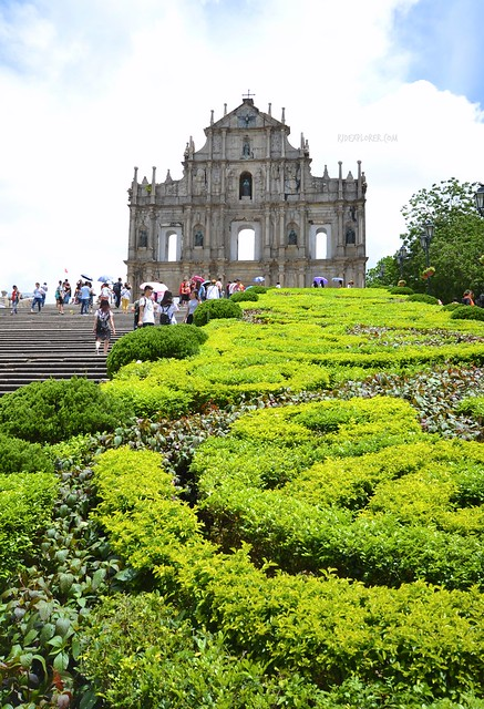 hong kong and macau itinerary travel guide ruins of st paul