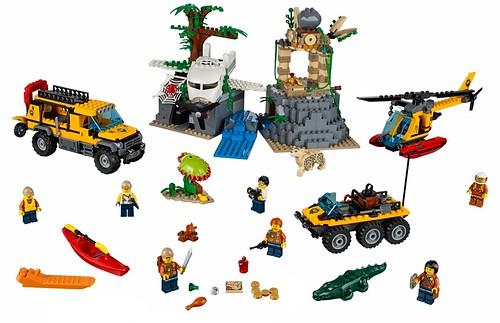 LEGO City Jungle 60161 Jungle Exploration Site 00