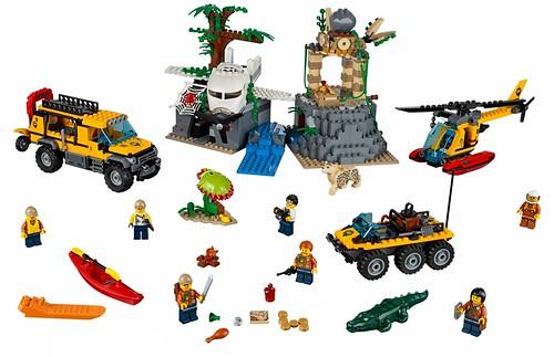 LEGO City Jungle 60161 Jungle Exploration Site 00