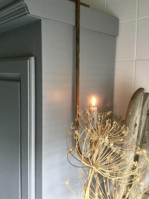 Berenklauw oude trap kast badkamer