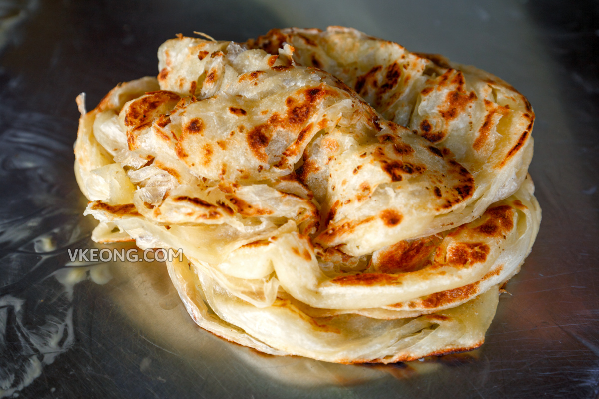 Crispy and Fluffy Roti Canai