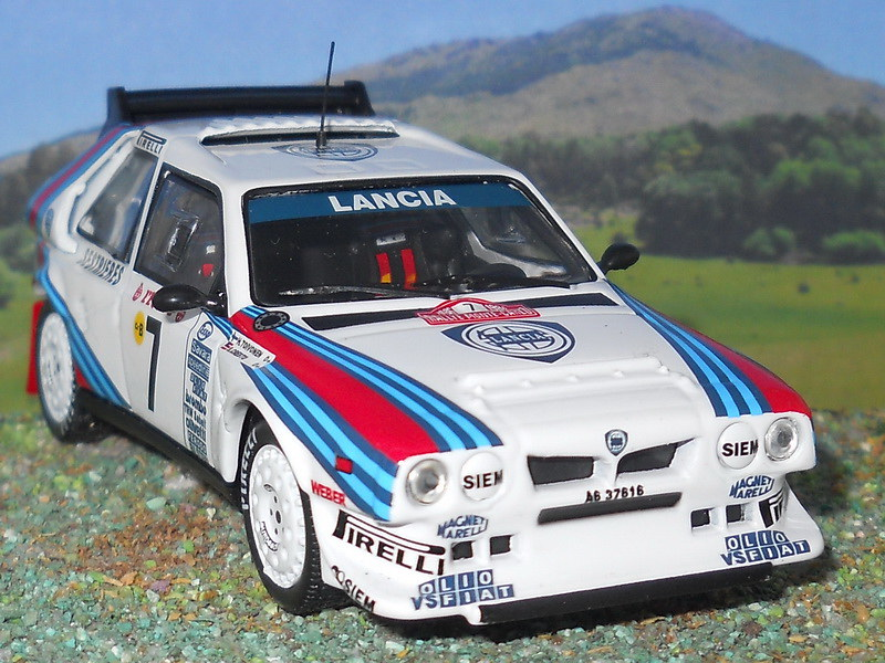 Lancia Delta S4 - Montecarlo 1986