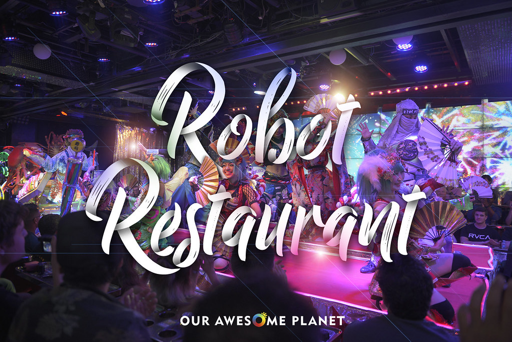ROBOT RESTAURANT: An Exciting Modern-Day Kabuki Experience in Tokyo!