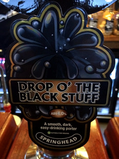 Springhead, Drop O' The Black Stuff, England