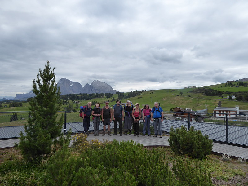 Walking in the Dolomites September 2017