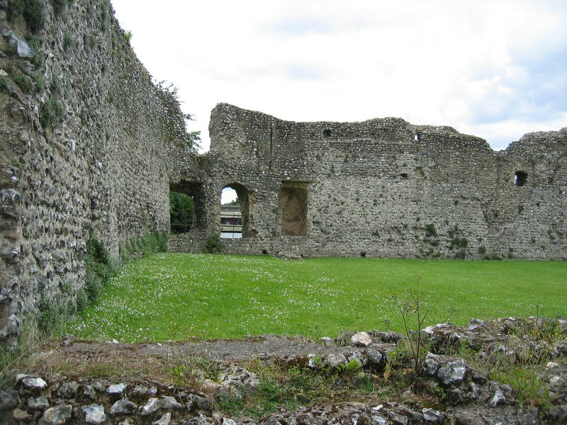 ruins of eynsford castle