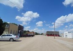61. Downtown Utica, in northwestern Ness County, 6-26-17