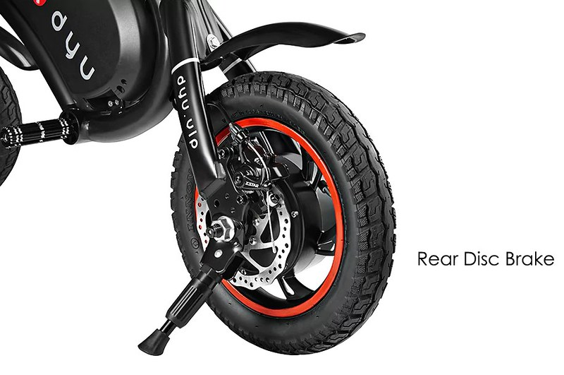 F - wheel DYU Electric Bike06