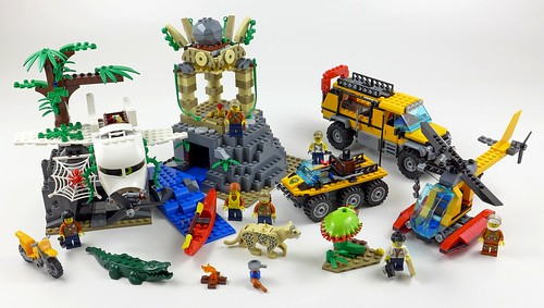 LEGO City Jungle 60161 Jungle Exploration Site 99b