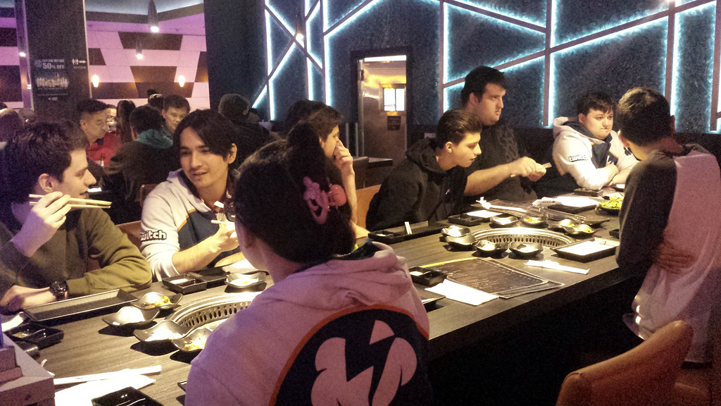 KBBQ during Overwatch bootcamp