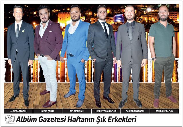 Ahmet Ağaoğlu, Hakan Çoban, Mehmet İmalı, Mehmet Sinan Demir, Sadık Dizdaroğlu, Seyit Ömer Aznik