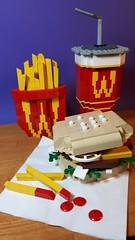 Wac Donald's BrickMac