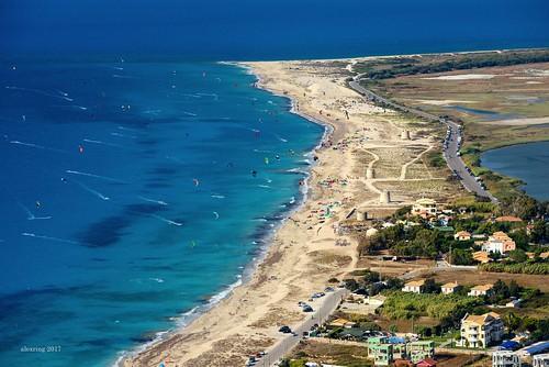 lefkada island greece beach agioannis kitesurfing view ελλάδα λευκάδα μονήφανερωμένησ αηγιάννησ σερφ παραλία nikon d750 alexring faneromenismonastery