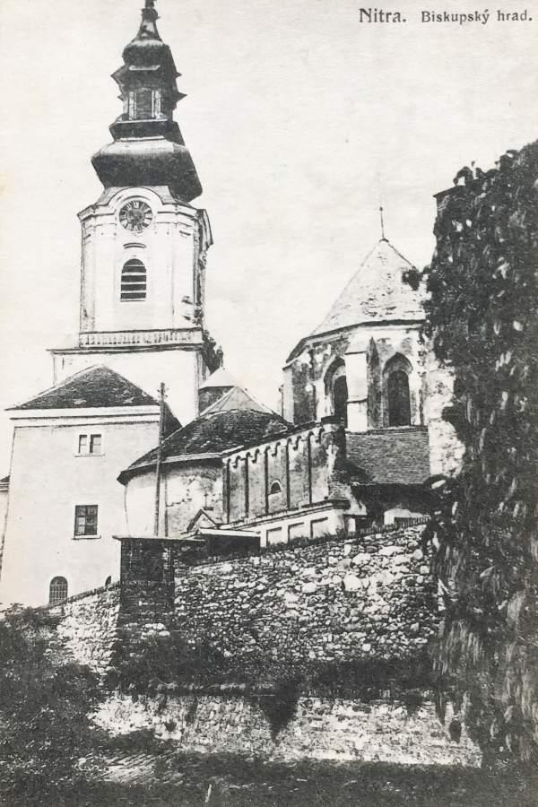 Nitriansky hrad cca 1920