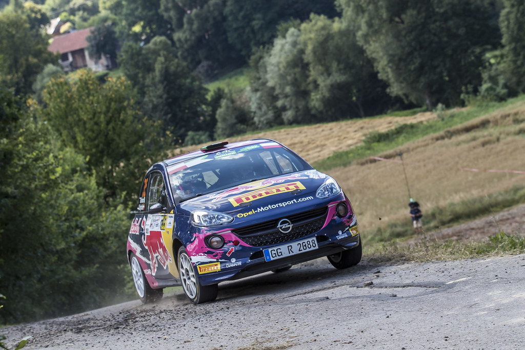 35 MOLINARO Tamara (ITA) Ursula MAYRHOFER (AUT) Opel Adam R2 action during the 2017 European Rally Championship Rally Rzeszowski in Poland from August 4 to 6 - Photo Gregory Lenormand / DPPI