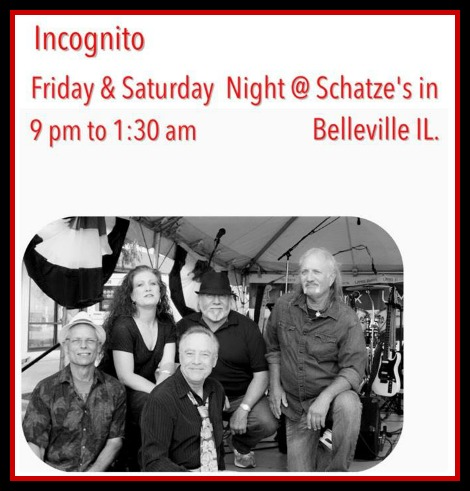 Incognito 8-4, 8-5-17