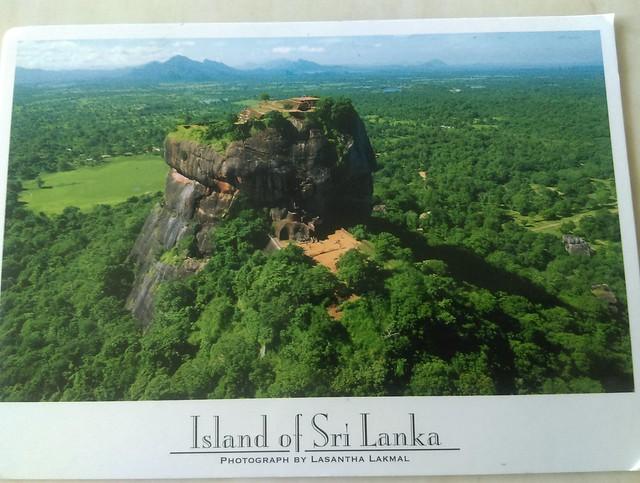 斯里蘭卡明信片