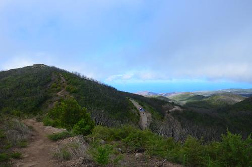 Die Aussichtsstation am Alto de Garajonay