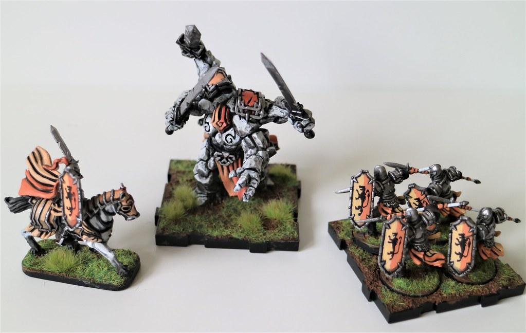 Runewars Miniatures Orange Set